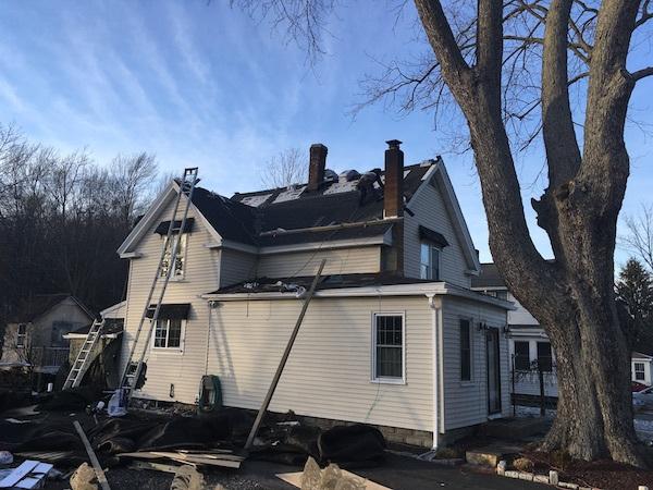 Pleasant-Street-Marlboro-MA-Roof-Install-January-2017-During