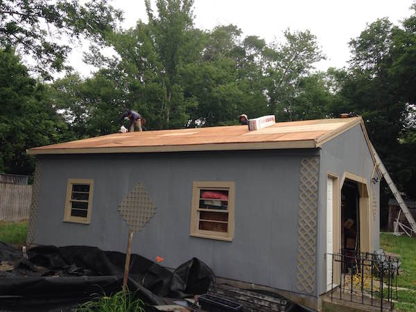 Temple-Street-Whitman-MA-Roof-Install-July-2016-Side-During