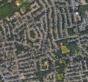 Brockton, MA Neighborhood Built 1950's