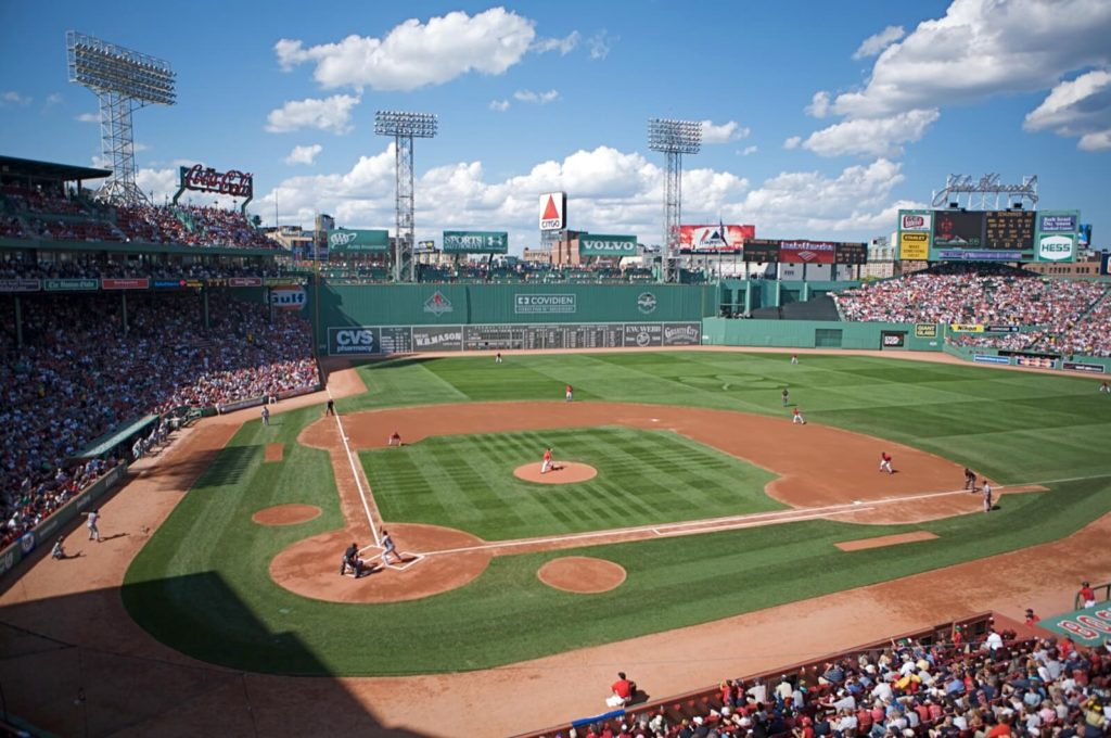 Opening Day at Fenway Park