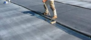 liquid bonding solution for roof