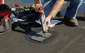 edge caulking for epdm roof