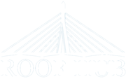 Roof hub logo - white