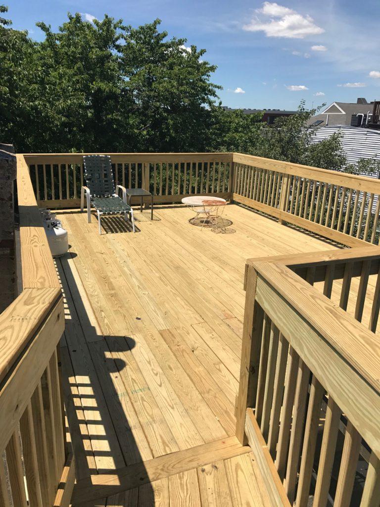 Boston Ma Roof Deck Construction Roof Hub