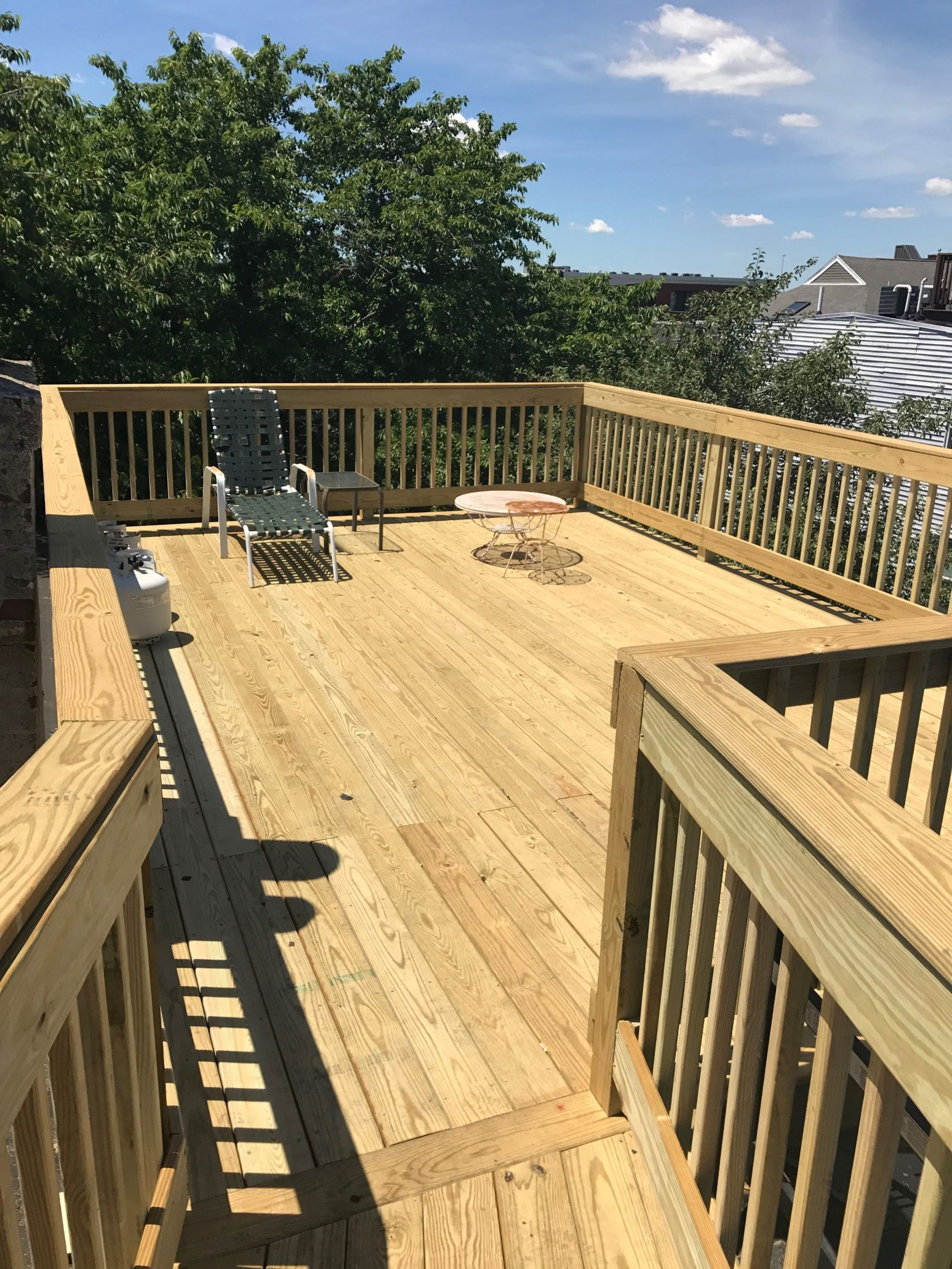 Rooftop Deck Construction In Boston Roof Hub