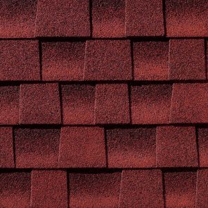 Patriot red shingle color