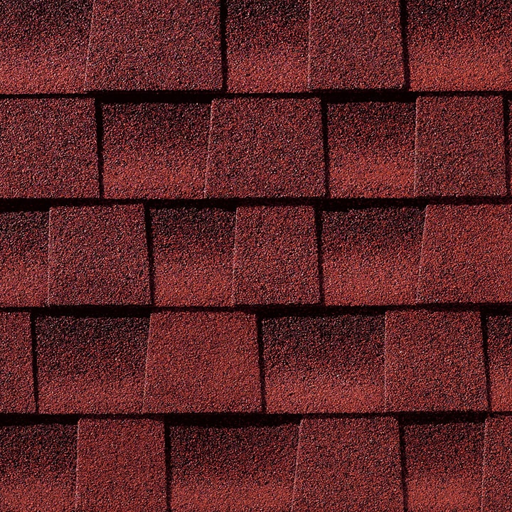 Patriot red shingle color