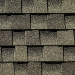 Weathered wood shingle color