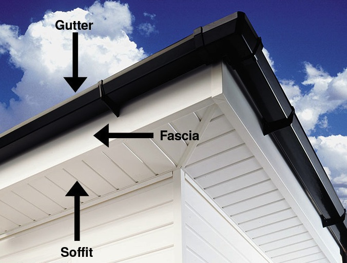 difference-soffit-fascia-gutters-near-roof